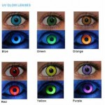 UV glow lenses