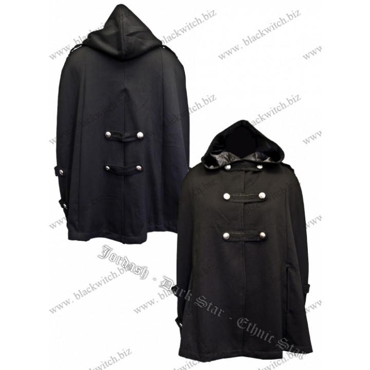 Hooded short Cape