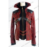 Jacket womans red