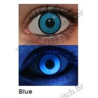 UV glow lenses Blue