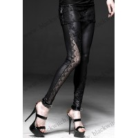 Asymmetric Lace Legging