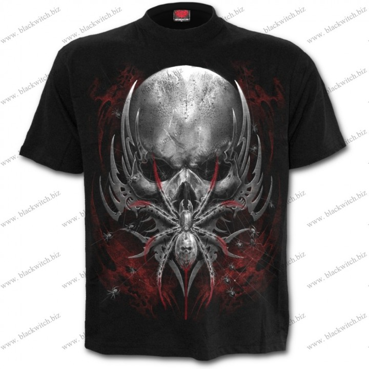 T-Shirt Spin Schedel