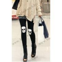 Leggings with skull