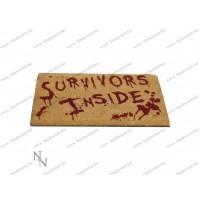 Survivors Inside Doormat 45x75cm