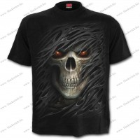 T-Shirt Black Tribal Death 