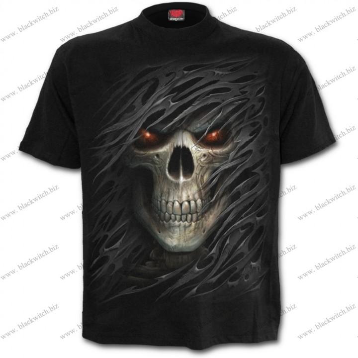 T-shirt Zwart Tribal dood